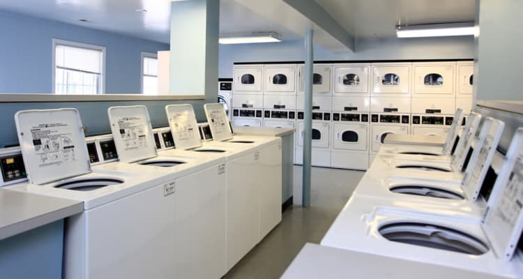 Laundry center at Cove Village in Essex, MD