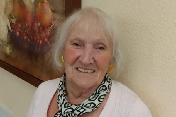 Sally Thyre at Fairview Estates Gracious Retirement Living in Hopkinton, Massachusetts