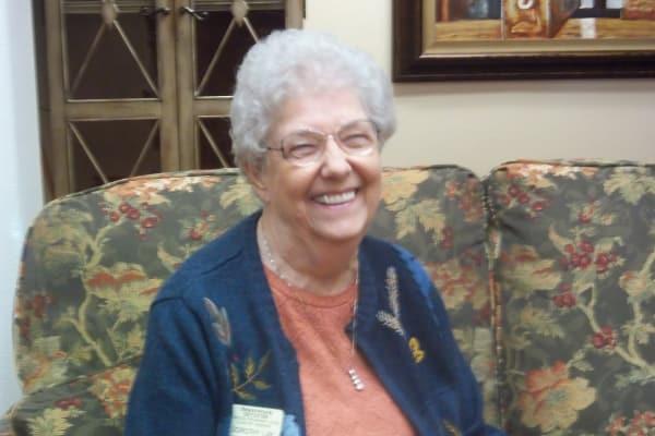 Dorothy Lay at Meadowlark Estates Gracious Retirement Living in Lawrence, Kansas