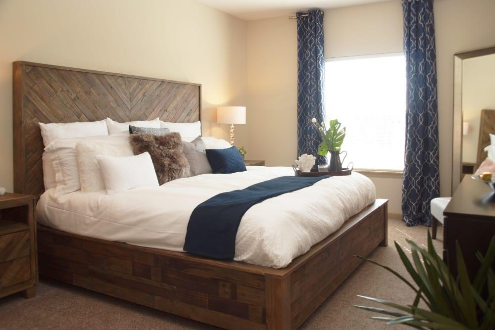 Bedroom at Apartments in Mason, Ohio