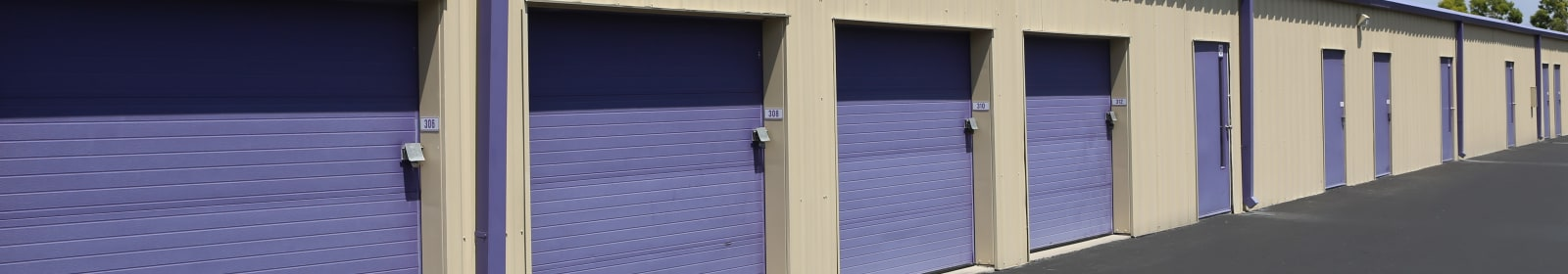 Unit sizes and prices at Midgard Self Storage in Melbourne, Florida