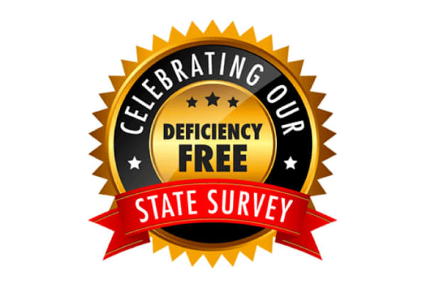 Celebrating our deficiency-free state survey