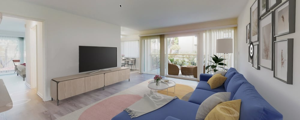 View a virtual tour of a 2 bedroom home at West Park Village in Los Angeles, California