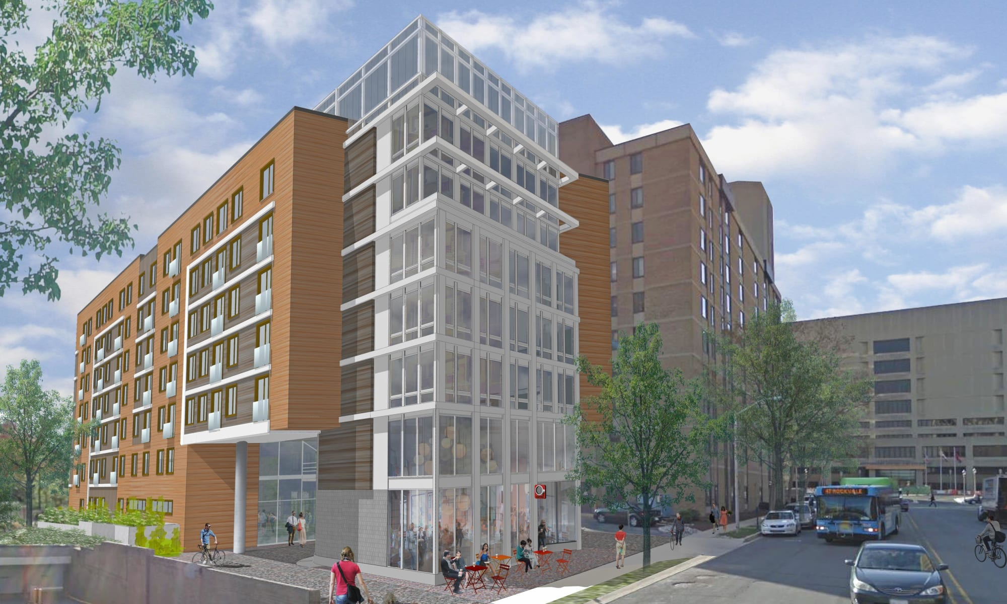 Main Street Apartments in Rockville, Maryland