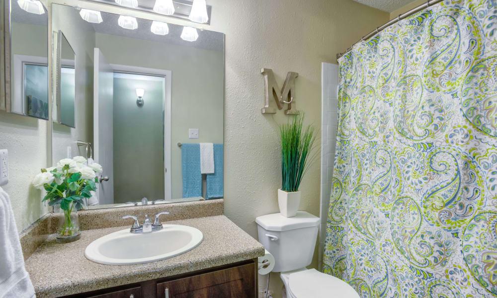 Bradford Pointe offers a beautiful bathroom in Austin, Texas