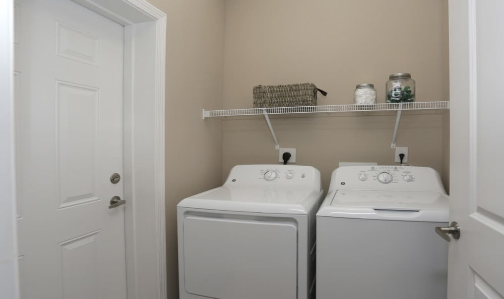 in-unit laundry at Springs at Laurens Road in Greenville