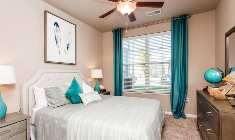 Spacious bedroom at Springs at McDonough in McDonough, GA