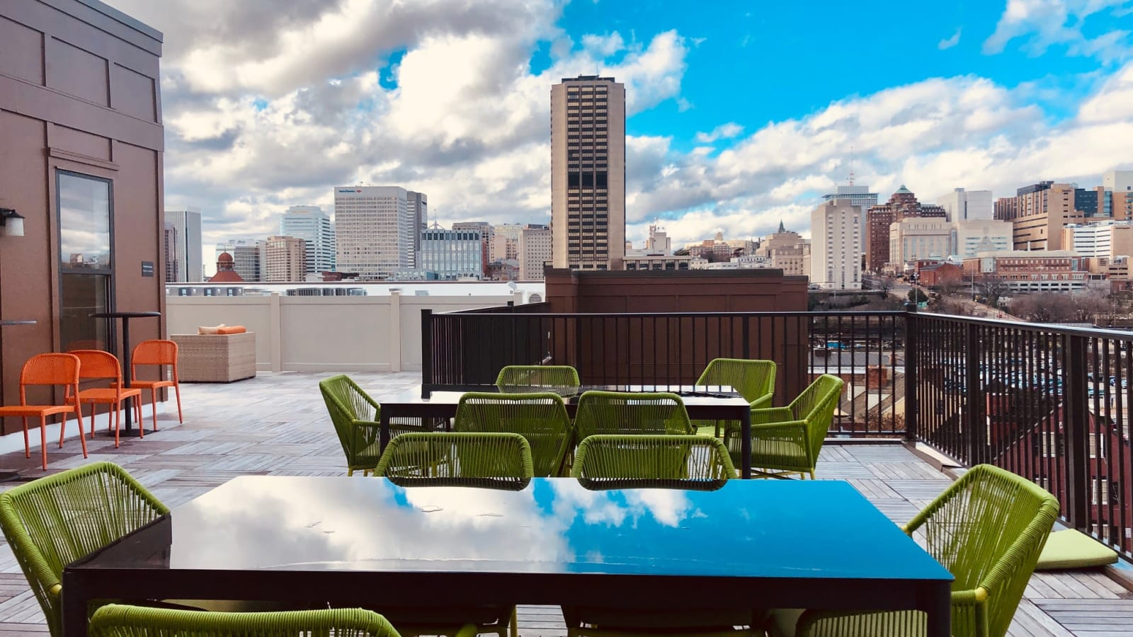 Outdoor Lounge at The Edge | Apartments in Richmond, VA
