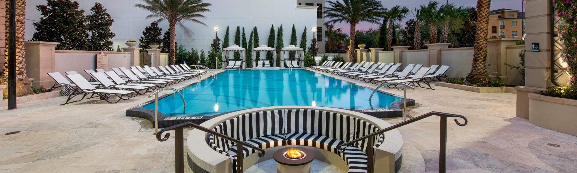 Amenities at Olympus Harbour Island in Tampa, Florida