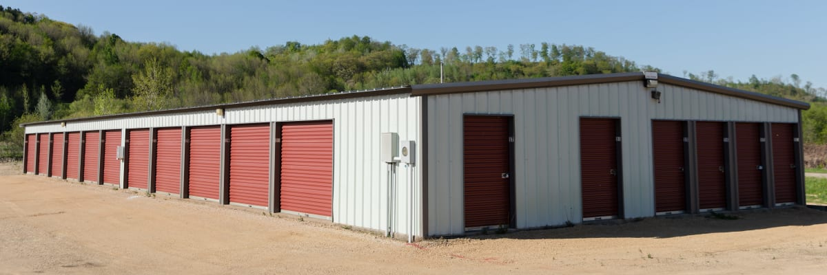 Unit sizes and prices at KO Storage of Knapp in Knapp, Wisconsin