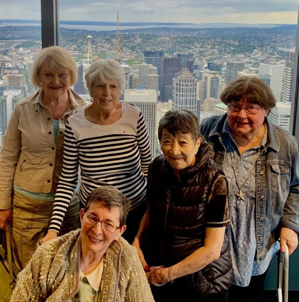 Residents at Sky View Observatory