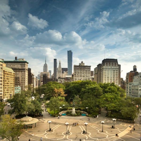 Gramercy park near 210-220 E. 22nd Street in New York, New York