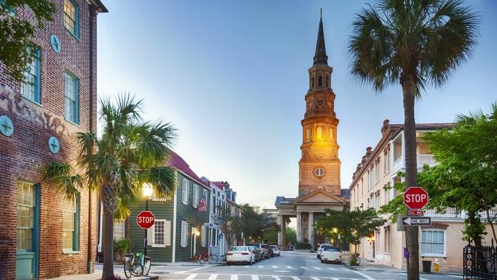 Downtown Savannah, Georgia, near Walden at Chatham Center