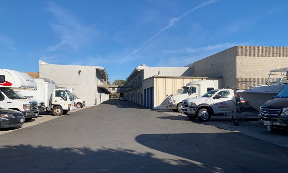 Vehicle Storage at Storage Etc Tarzana