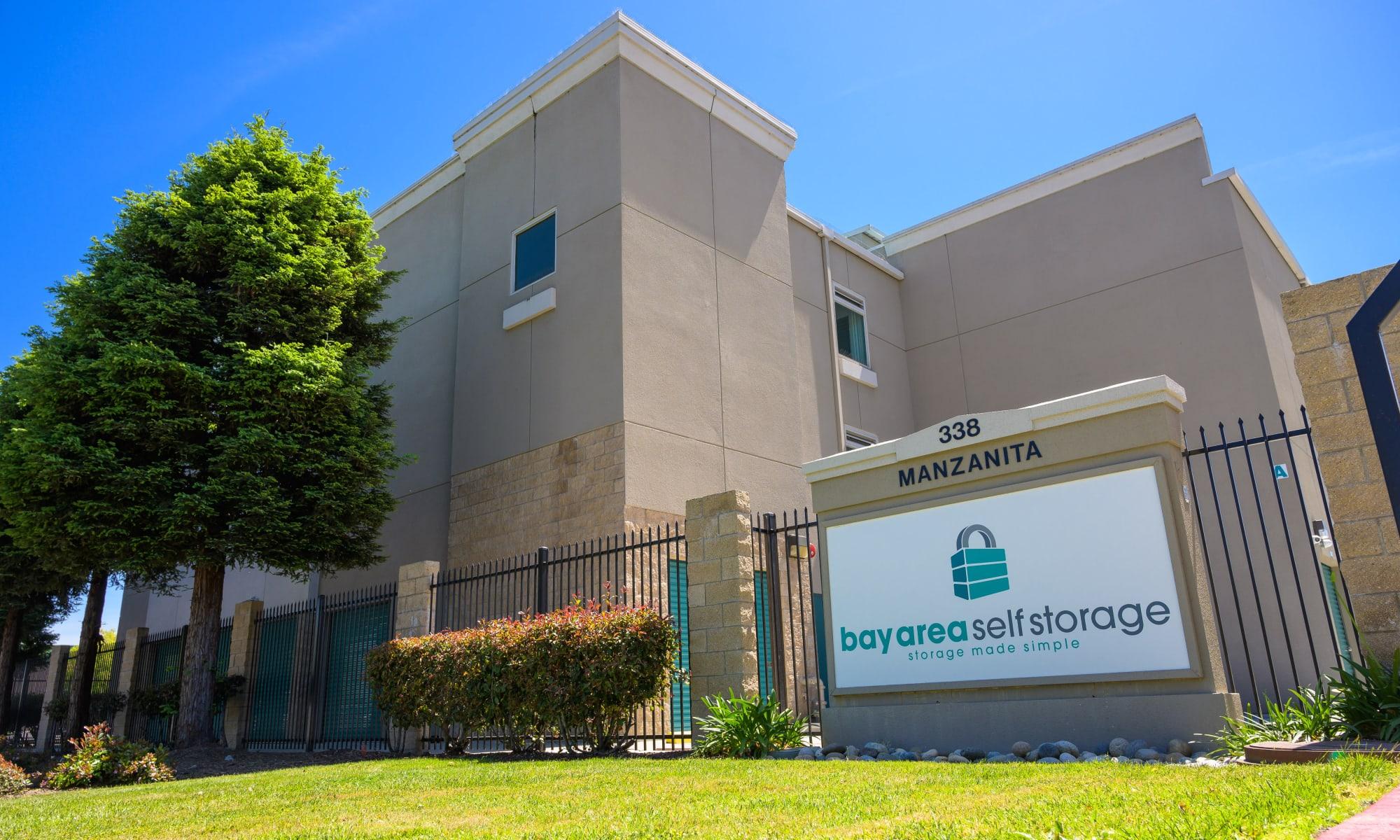 Bay Area Self Storage in Redwood City, California