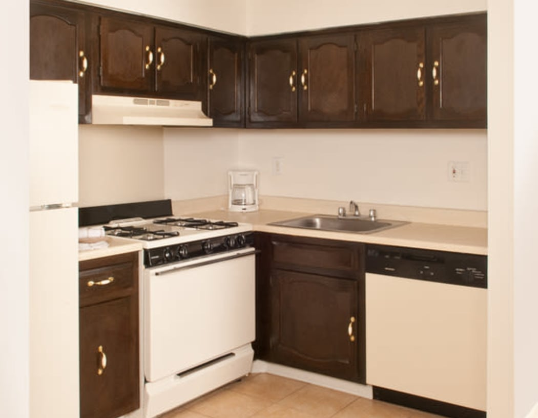 Modern kitchen at Chadwick Village Apartments in Lindenwold, New Jersey