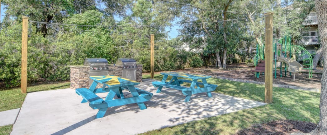 Our resident parents - and their children - love our on-site playground here at The Park at Three Oaks in Wilmington.