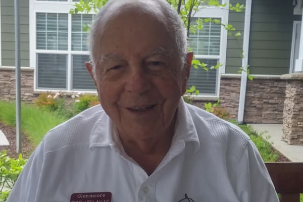 Robert Vrilakas at Glenmoore Gracious Retirement Living in Happy Valley, Oregon