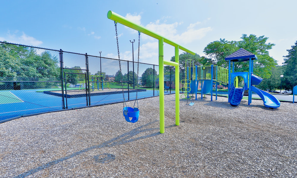 Playground at The Village of Laurel Ridge & The Encore Apartments & Townhomes in Harrisburg, Pennsylvania