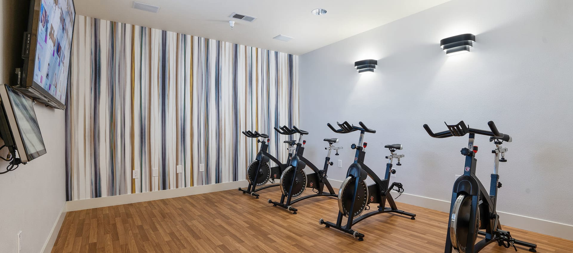 Spin Bike Room at Park Central in Concord, California