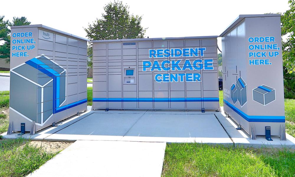 Amazon Hub at The Village of Laurel Ridge & The Encore Apartments & Townhomes in Harrisburg, Pennsylvania