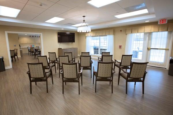 Neighborhood center for residents at Artis Senior Living of Eatontown in Eatontown, New Jersey