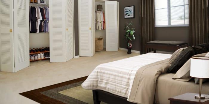 Bedroom at Willow Run at Mark Center Apartment Homes