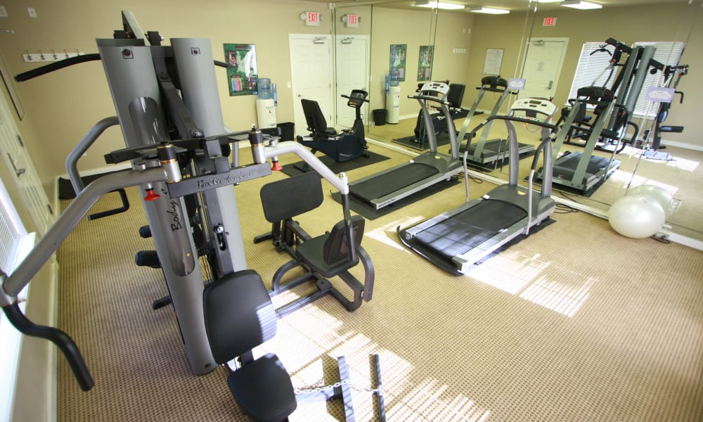 Resident Fitness Center Remington Apartments in Amarillo, Texas