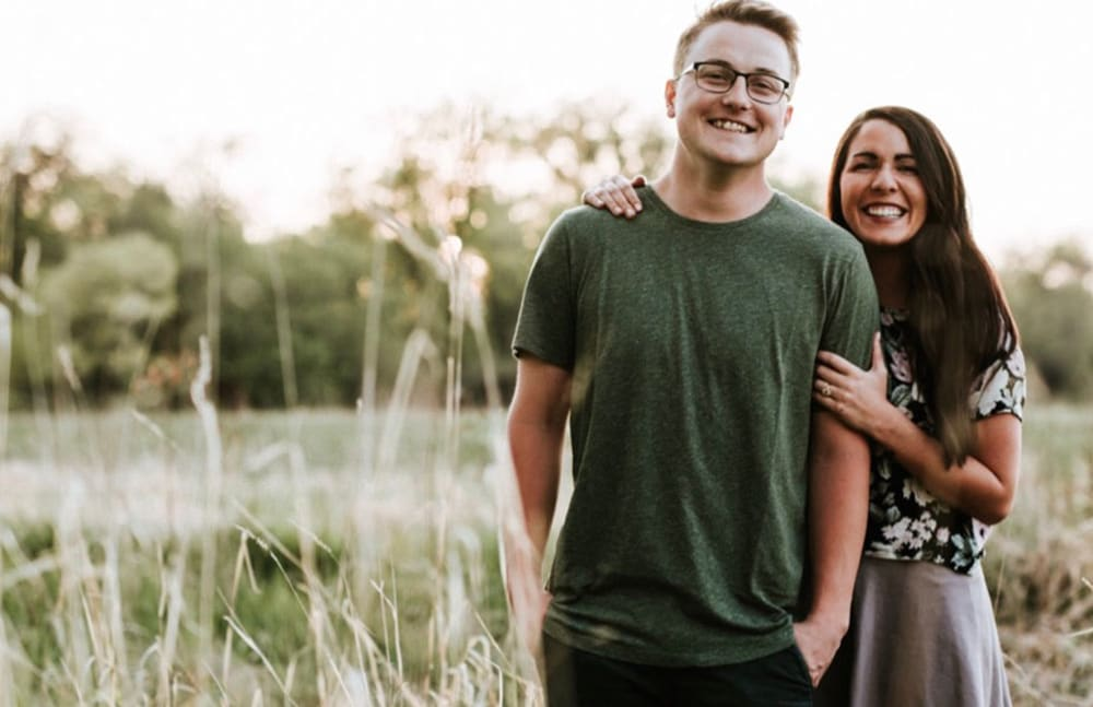 Destiny, from Touchmark on West Century in Bismarck, North Dakota, with her husband