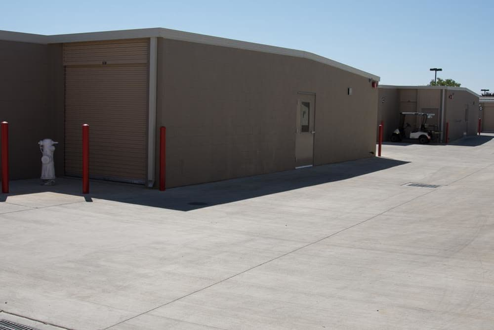 Buildings at Roseville Self Storage in Roseville, CA