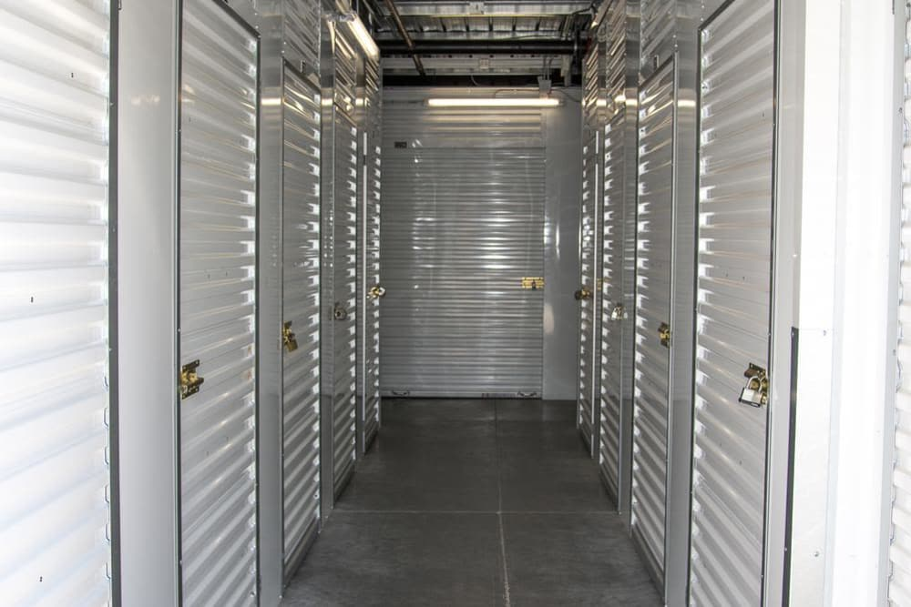 Lockers at Roseville Self Storage in Roseville, CA
