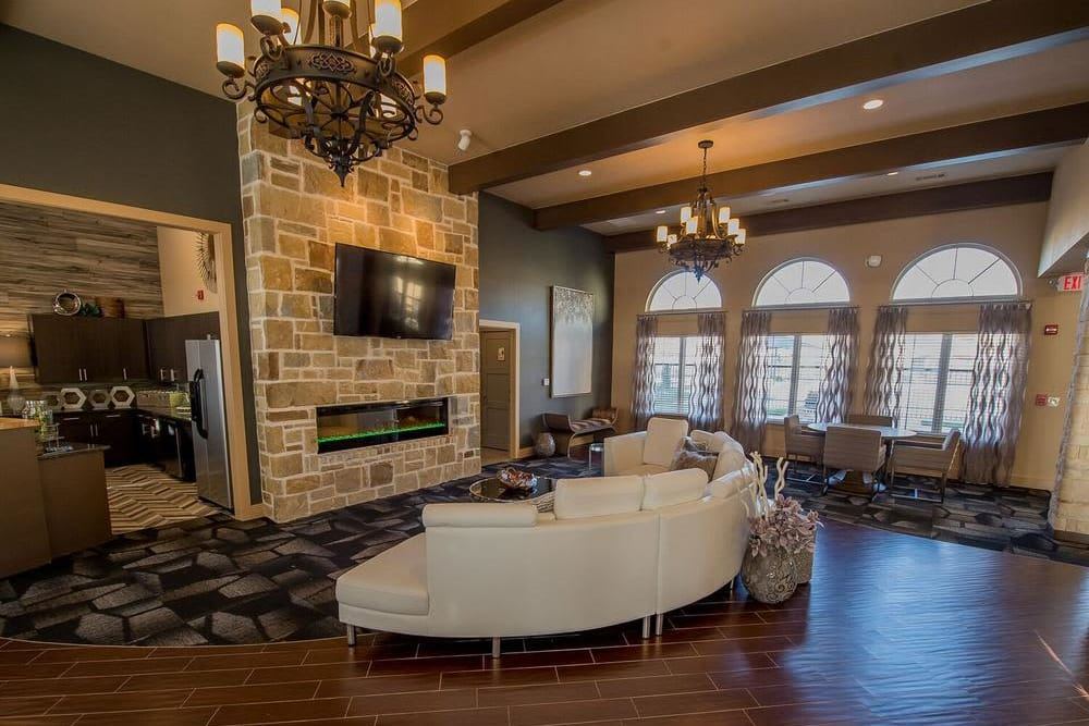 Wonderful clubhouse at Watercress Apartments in Maize, Kansas