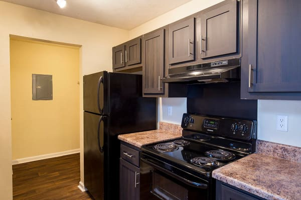 Modern kitchen at The Greens at Cascade in Atlanta, Georgia
