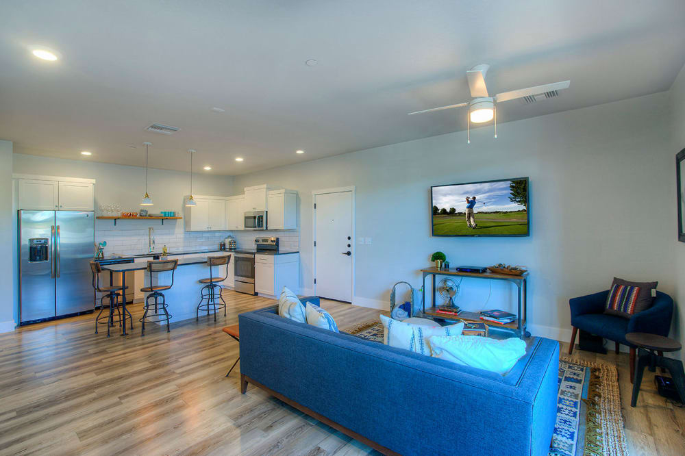 View the floor plans at District Lofts in Gilbert, Arizona