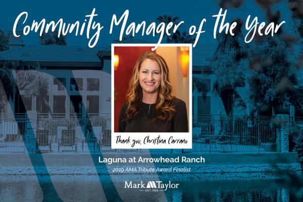 Manager of the year at Villa Vita Apartments