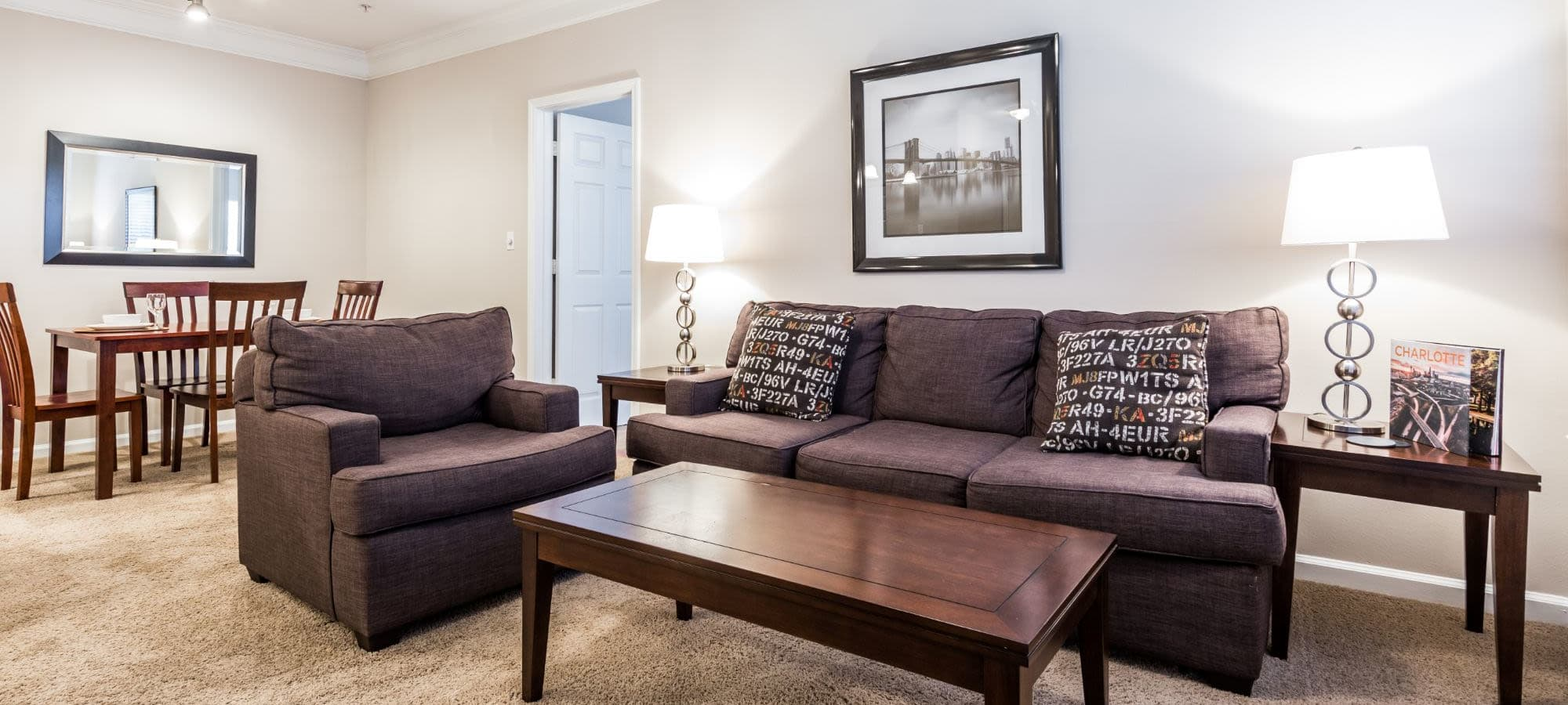 Floor plans at The Preserve at Ballantyne Commons in Charlotte, North Carolina