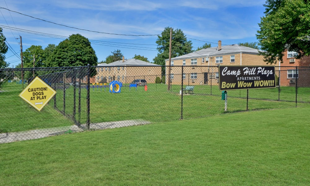 Camp Hill Apartment Homes offers a dog park in Camp Hill, PA