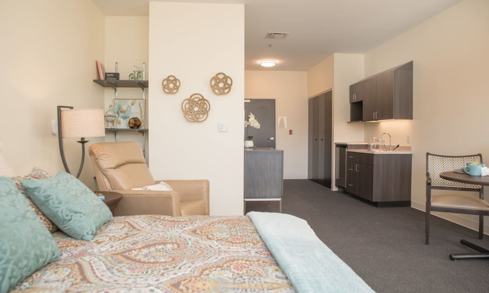 A furnished studio apartment at lTrilogy Health Services - Harrison, OH in Harrison, Ohio