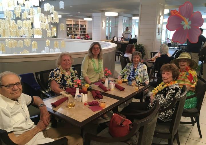 Monterey Luau celebration