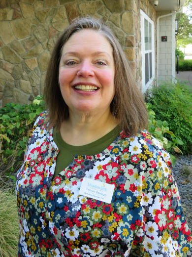 Terryn Spragg of Meadowlark Senior Living in Lebanon, Oregon