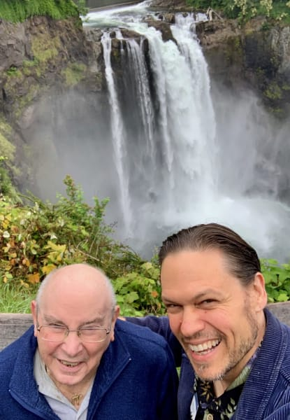 Falls in Snoqualmie, WA