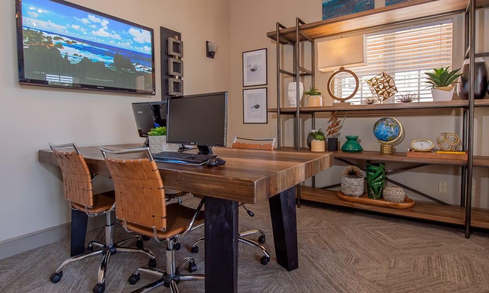 Business Center at Park at Tuscany in Oklahoma City, Oklahoma