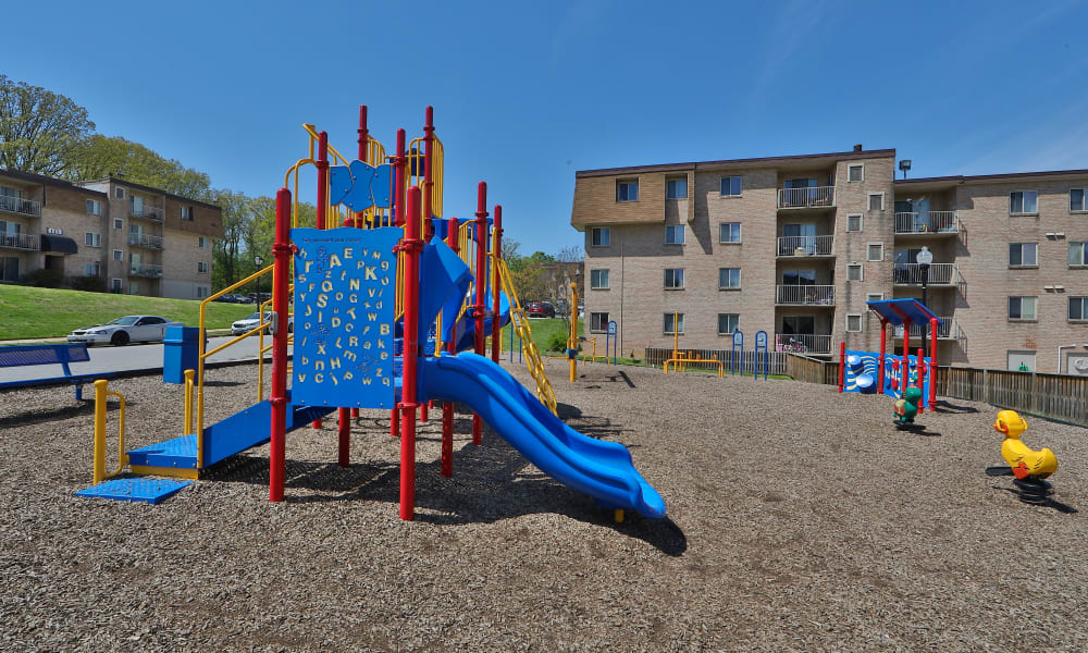 Playground at The Willows Apartment Homes in Glen Burnie, Maryland