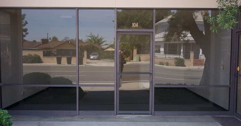 Allspace Self Storage office exterior