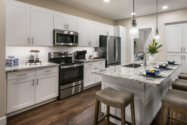 Fully equipped kitchen at San Artes in Scottsdale, Arizona