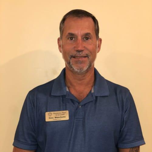 Gary Blanchette, Facilities Director at Keystone Place at Terra Bella in Land O' Lakes, Florida