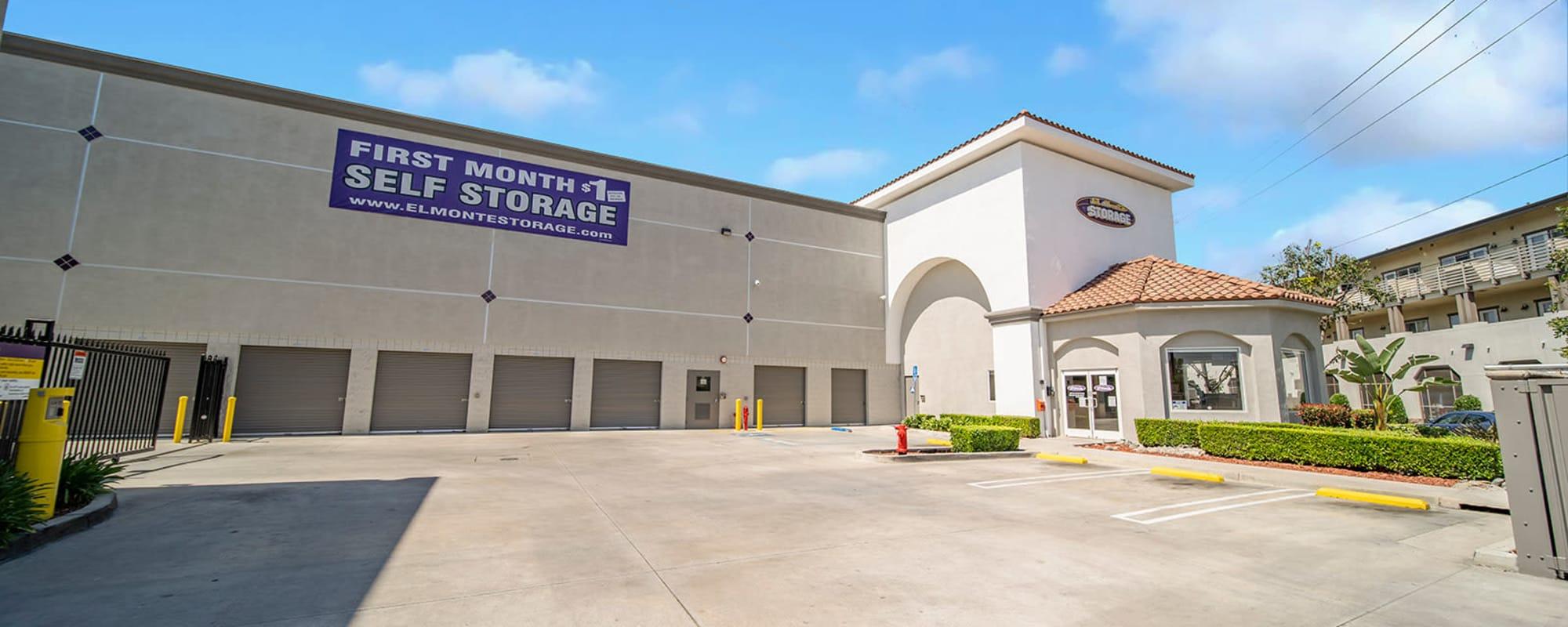 El Monte Storage in El Monte, California