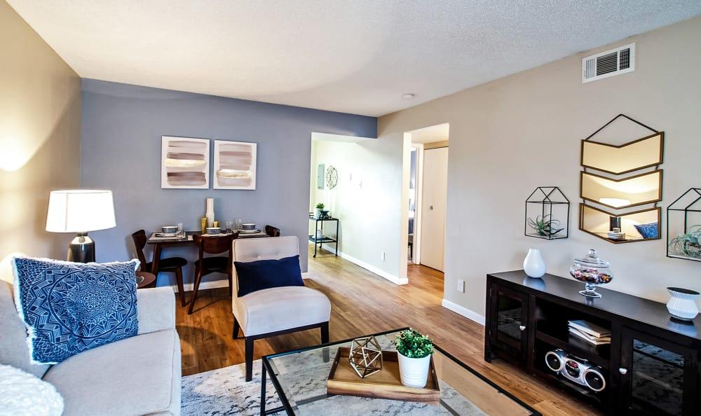 Broadmoor Ridge Apartment Homes Living Rooms in Colorado Springs, Colorado