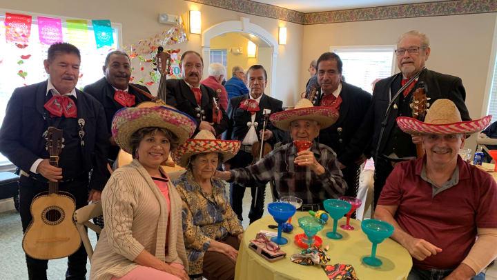 Margaritas, Mexican Cuisine and Mariachi's
