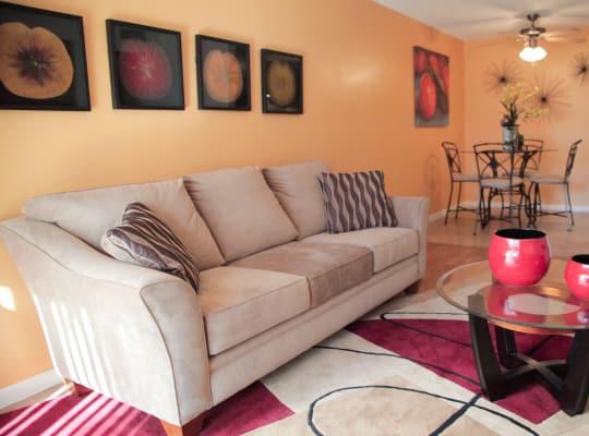 Lime Tree Village living room